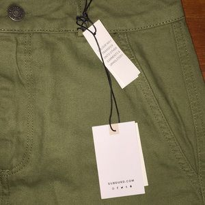 8871916e5 subdued Skirts | Army Green Jean Skirt | Poshmark